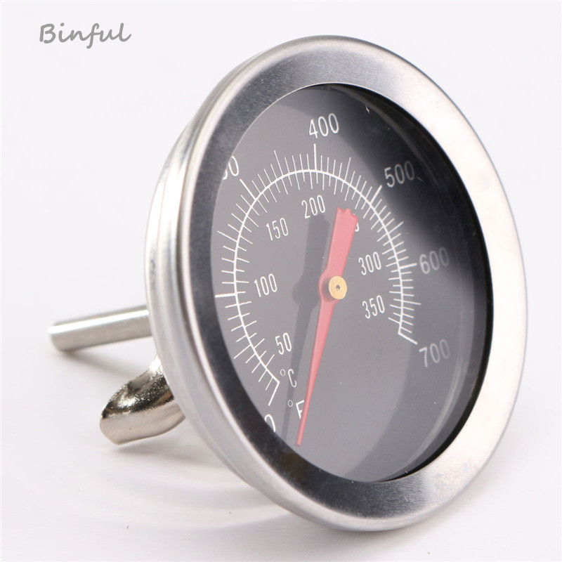 Stainless Steel BBQ Accessories Grill Meat Thermometer Dial Temperature Gauge Gage Cooking Food Probe Household Kitchen Tools