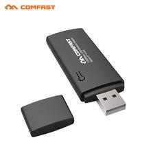 COMFAST 1200 М 802.11AC ноутбук Dual Band 2.4 ГГц + 5 ГГц USB 3.0 Беспроводной/Wi-Fi usb 5 ГГц AC гигабитный Адаптер CF-912AC Сети КАРТЫ