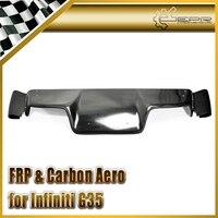 Автомобильный Стайлинг стекловолокно FCS TS стильный диффузор глушителя стекловолокна Нижняя панель для Nissan 03 08 Z33 350z Infiniti G35 Coupe 2D JDM