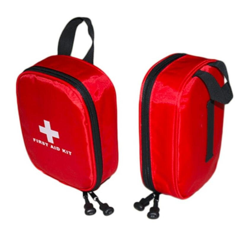 Mini Outdoor First Aid Kit Bag Portable Travel Medicine Package Emergency Kit Bags Small Medicine Divider Storage Organizer