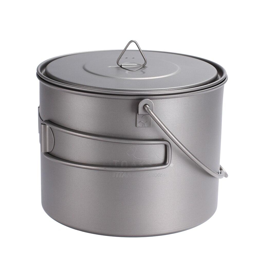 Toaks titanium pot frigideira conjunto de panelas