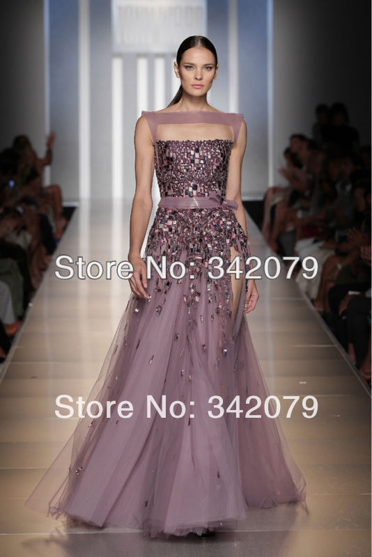 Ph09442 tony ward evening tulle couture lilac gown with an for Haute couture dress price