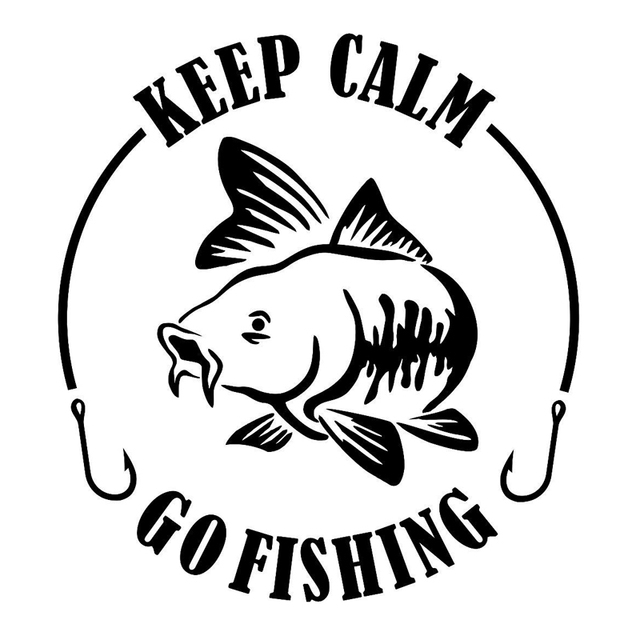 15 2cm 15 4cm keep calm go fishing fashion car styling vinyl car rh aliexpress com  keep calm logo maker