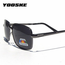YOOSKE Fashion Classic Polarized Sunglasses Men Driving Goggles Polarizer Lens S