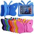 2016 Новый Для iPad Air 2 Case Дети 3D Милые Бабочки Противоударный EVA Пены для Apple iPad Air 1 5/6 Планшет Smart Крышка Корпуса