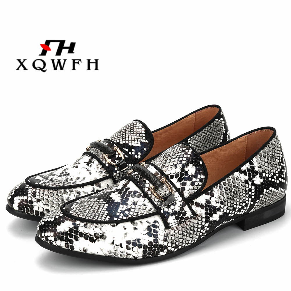 2019 New Animal Pattern Mens Shoes Wedding Dress Male Flats Casual Slip-on Shoes Italian Mens Shoes Handmade Loafers2019 New Animal Pattern Mens Shoes Wedding Dress Male Flats Casual Slip-on Shoes Italian Mens Shoes Handmade Loafers