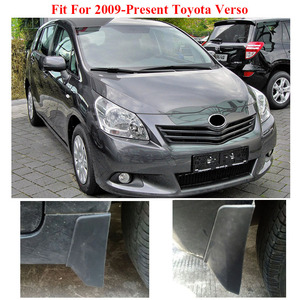 Image 4 - Set Auto Spatlappen Voor Toyota Verso 2009 2018 Spatlappen Splash Guards Mud Flap Spatborden Fender 2010 2011 2012 2013 2014 2015