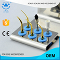 10 pcs ESPKG  home dental cleaning kit for scaling and polishing fit  EMS scaler tips and woodpecker mectron w&h piezo scaler