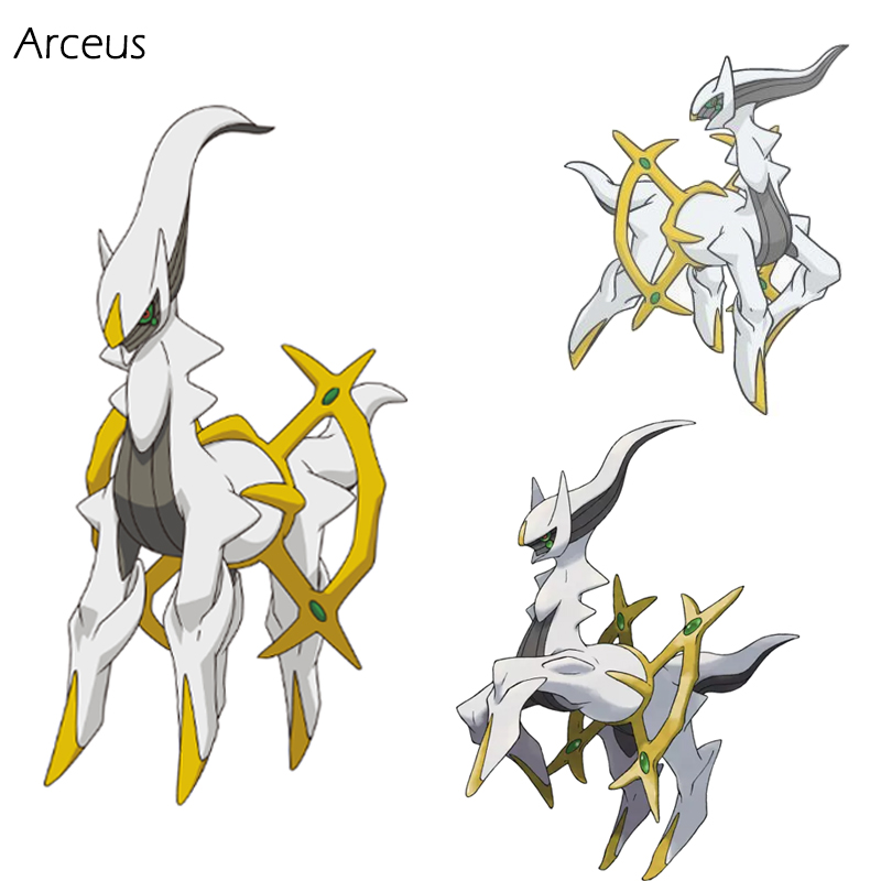 arceus 3d led crystal keychain night light novelty light portable