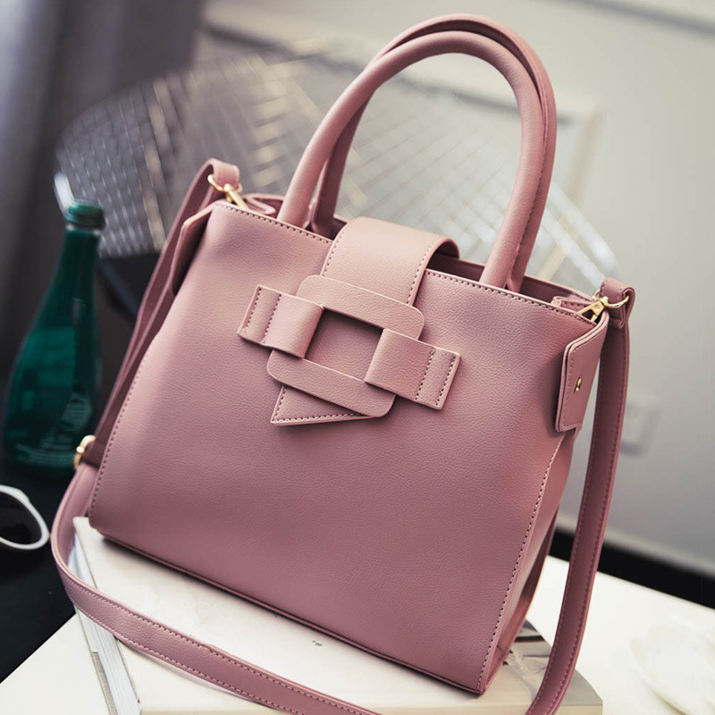 Moorlly New American Luxury Style Leather Women Shoulder Bag Brand Designer Handbags Fashion Crossbody Tote Messenger In Top Handle Bags From