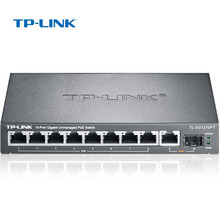 TP-Link 10 poort Ethernet switch Staal Metalen 8 port Gigabit POE switch Voor IP camera Up 121 W \u0028TL-SG1210PT\u0029