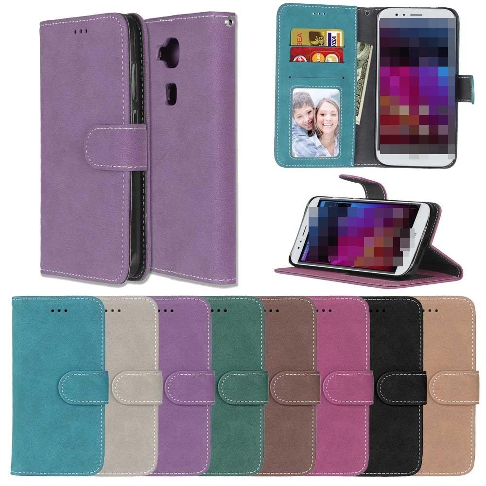 Чехол для Huawei Honor 8 V9 6X Mate 8 Mate 9 P10 lite плюс P8 Lite 2017 флип Слот карт стенд держатель кожаный матовый чехол для телефона