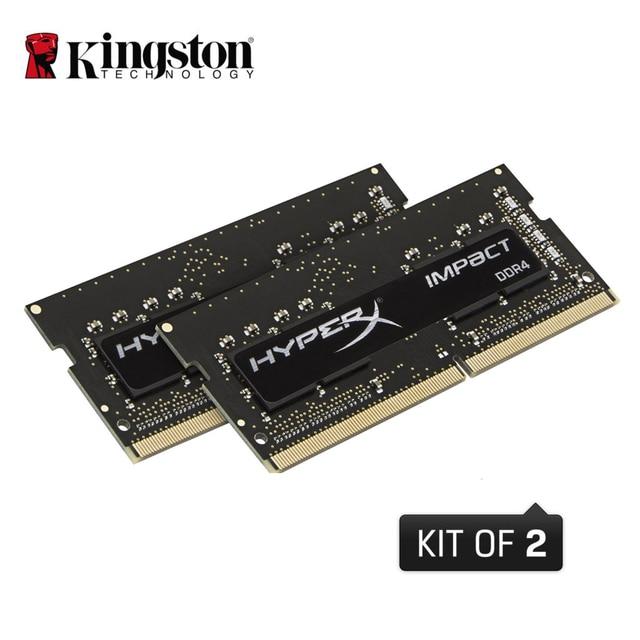 Kingston HyperX Воздействия 1.2 В SODIMM memoria ram16GB 32 ГБ 2133 МГц DDR4 CL13 (Комплект из 2)