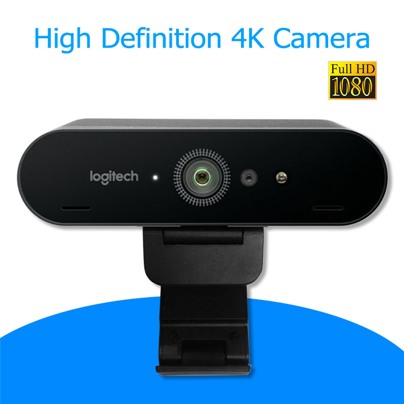 Logitech BRIO C1000e 4K HD Webcam with Mic Facial Recognition Autofocus Computer Camera for Video Conference Streaming Recording image
