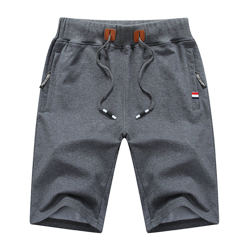 Summer New Cotton Casual   Shorts   Men Solid Mens Bermudas   Shorts   Comfortable Male Beach   Shorts