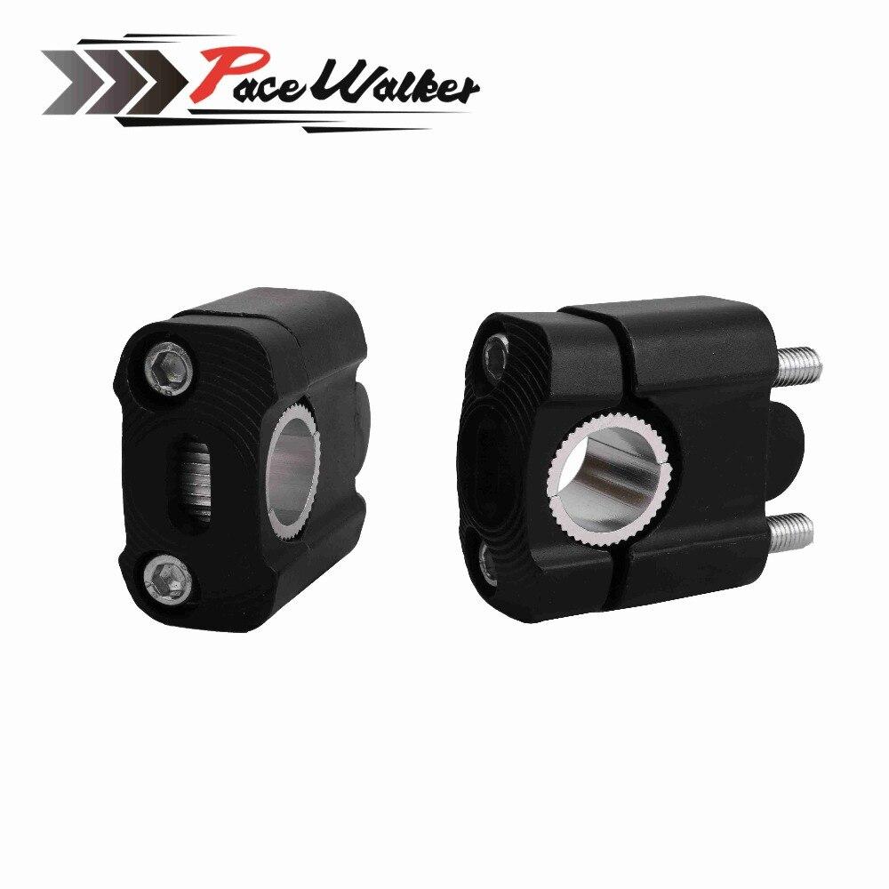 22mm 28mm Off Road motocicleta abrazaderas de barra Raiser manillar Risers para 22mm 7/8