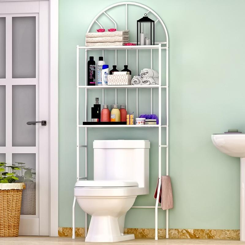 Bathroom Washing Machine Shelf Bathroom Toilet Rack Organizer Floor Storage Shelf Space Saver Shelf Units Towel Storage Home Полка