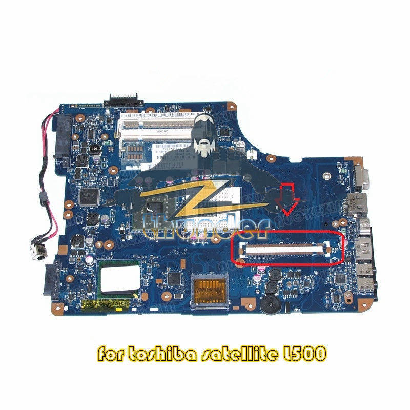 KSWAA LA-4981P MB K000083110 for toshiba Satellite L500 laptop motherboard GL40 DDR2 laptop motherboard for toshiba satellite l550 l555 k000092150 la 4982p kswaa 46179151lb2 100% tested good