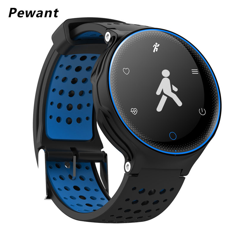 Pewant IP68 Waterproof Smart Watch With Calories Blood Pressure Oxygen Heart Rate Monitor Smart Bracelet For IOS Android Phone