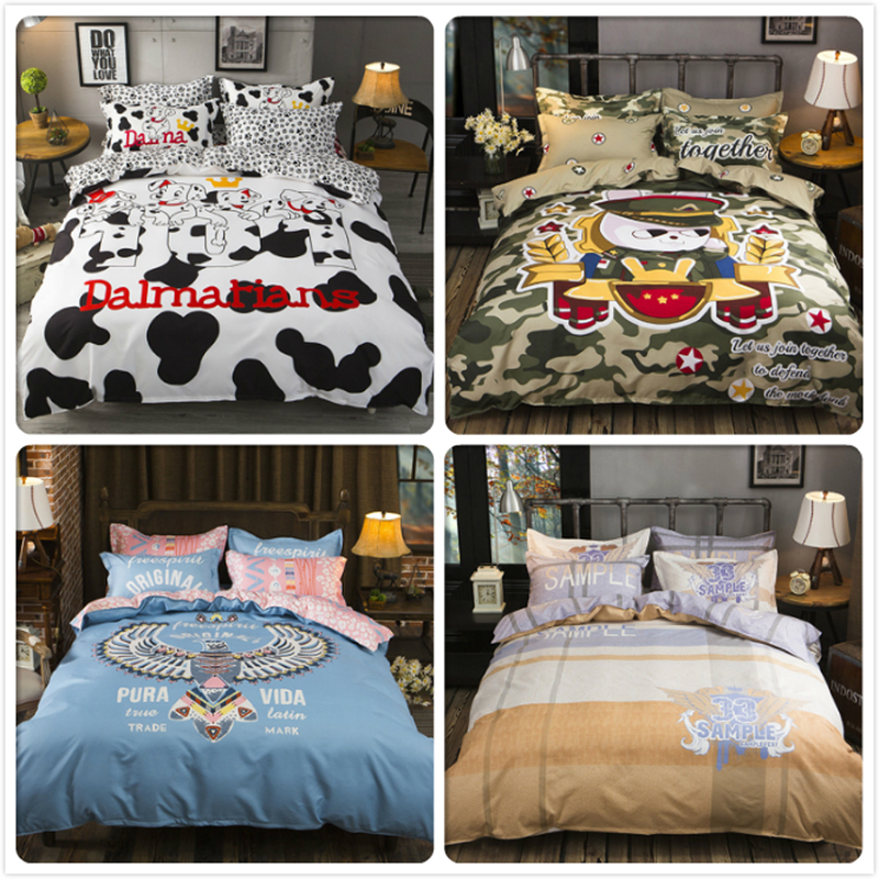 Power Source 3/4 Pcs Bedding Set Bedlinens Duvet Cover Bedsheet Pillowcase Sets 1.5m 1.8m 2m Bedclothes King Queen Twin Double Size Bed Linen High Quality Goods