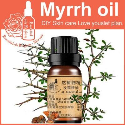 Против морщин 100% чистый завод эфирное масло мирры масло 10 мл уход за кожей успокоить нервы