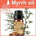 Anti-wrinkle 100% pure plant essential oil myrrh oil 10ml skin care calm nerves