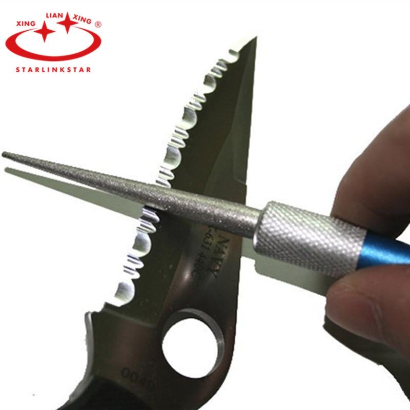 """Lansky LGRDN Stone Garden Tool /& Lawn Mower Sharpener 9 1//4/"""" Sharpening"""