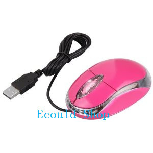 USB Wired Pink Optical Scroll Wheel Laptop Mouse Mice new mini retractable usb optical mouse for pc laptop notebook scroll wheel colorful mice dropshipping