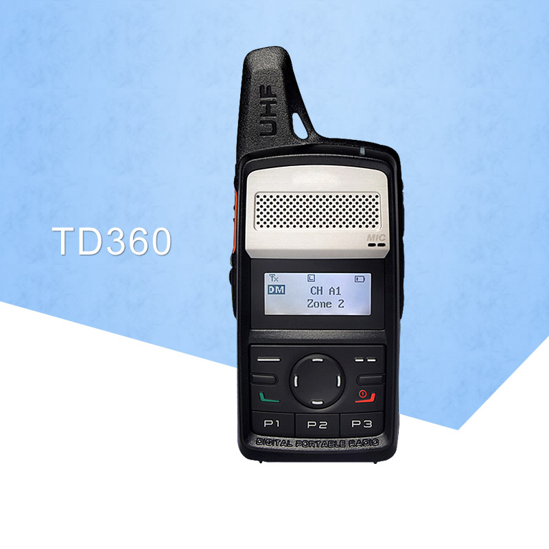 Walkie Talkie 400-440MHz TD360 Protable Radio TD36X TD-360 PD365 DMR Transmitter Two Way RadioWalkie Talkie 400-440MHz TD360 Protable Radio TD36X TD-360 PD365 DMR Transmitter Two Way Radio