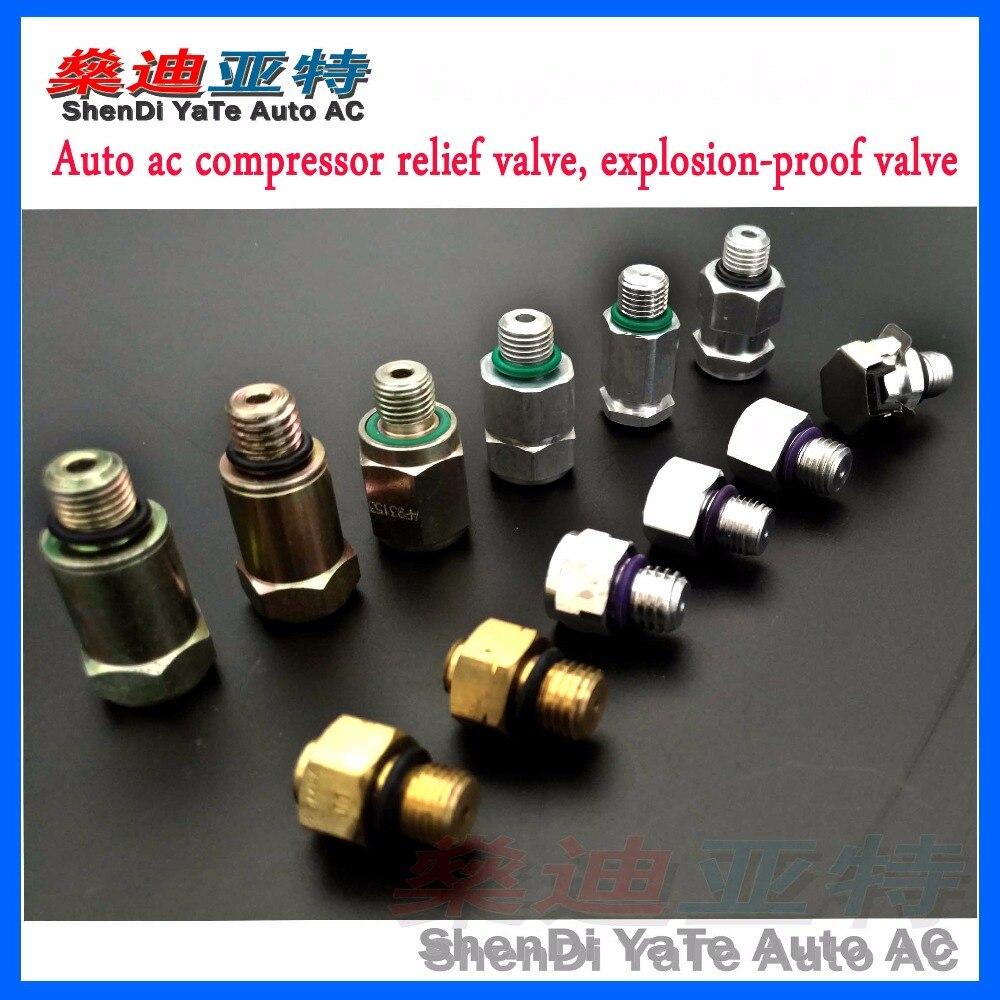 air conditioning compressor relief valve