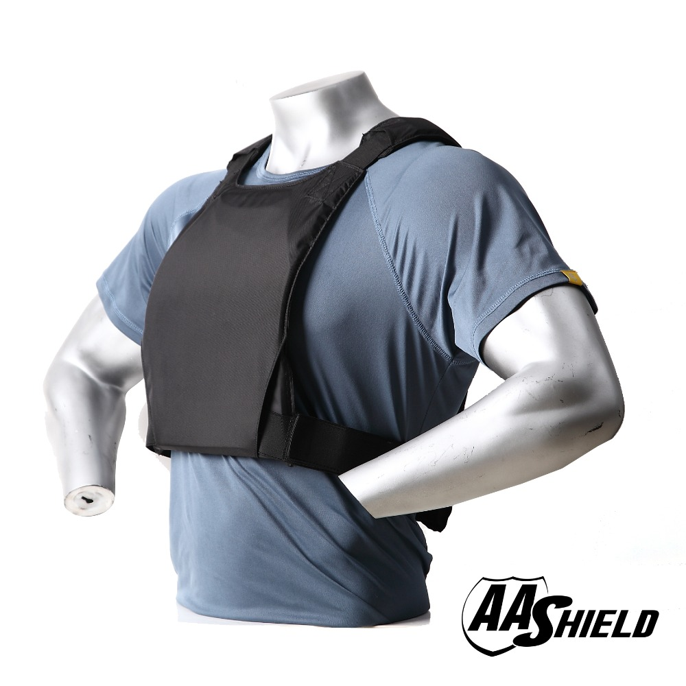 Image 4 - AA Shield Plate Holder Soft Armor Panel Covert Carrier Ballistic Body Armor 10X12 Bullet Proof Plates Concealed Vest-in Safety Clothing from Security & Protection