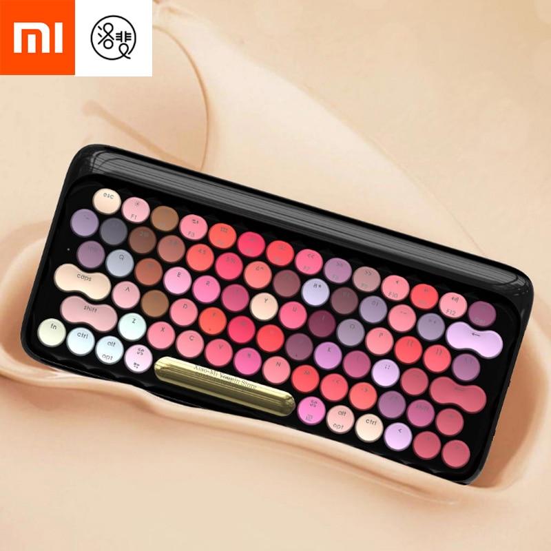 Xiaomi Mijia Lofree Wireless Bluetooth Mechanical Keyboard Bloom Version Charming Gaming Keyboard With LED Backlight