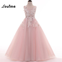 Pink Flower Girl Dresses For Wedding Party Vestido Daminha Alibaba China Children Birthday Dress Pageant Girl