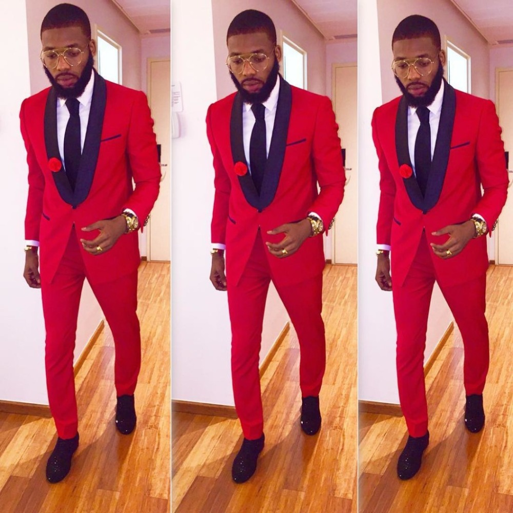 High Quality Red Prom Tuxedo Promotion-Shop for High Quality ...