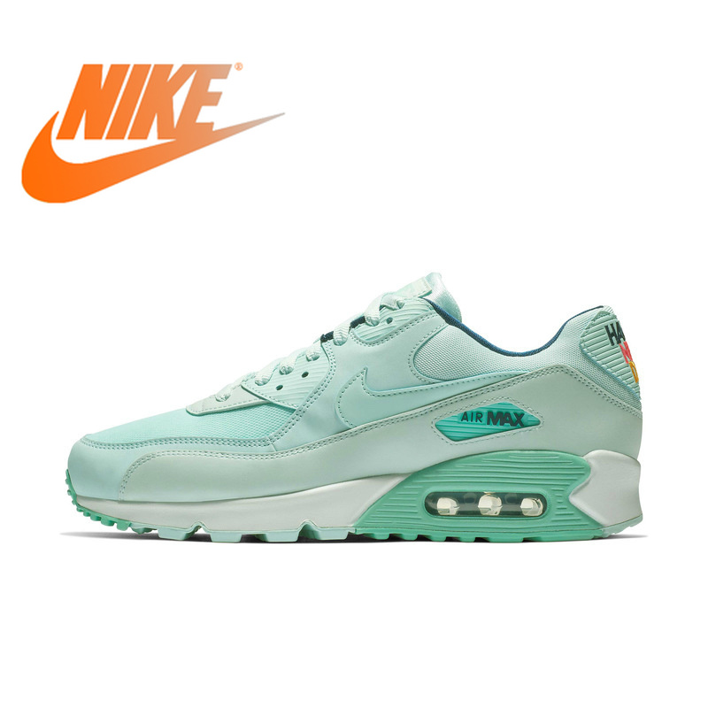 Original Authentic Nike AIR MAX 90 SE Womens Sneakers Running Shoes Lace-Up Low Leisure Height Increasing Comfortable 881105Original Authentic Nike AIR MAX 90 SE Womens Sneakers Running Shoes Lace-Up Low Leisure Height Increasing Comfortable 881105
