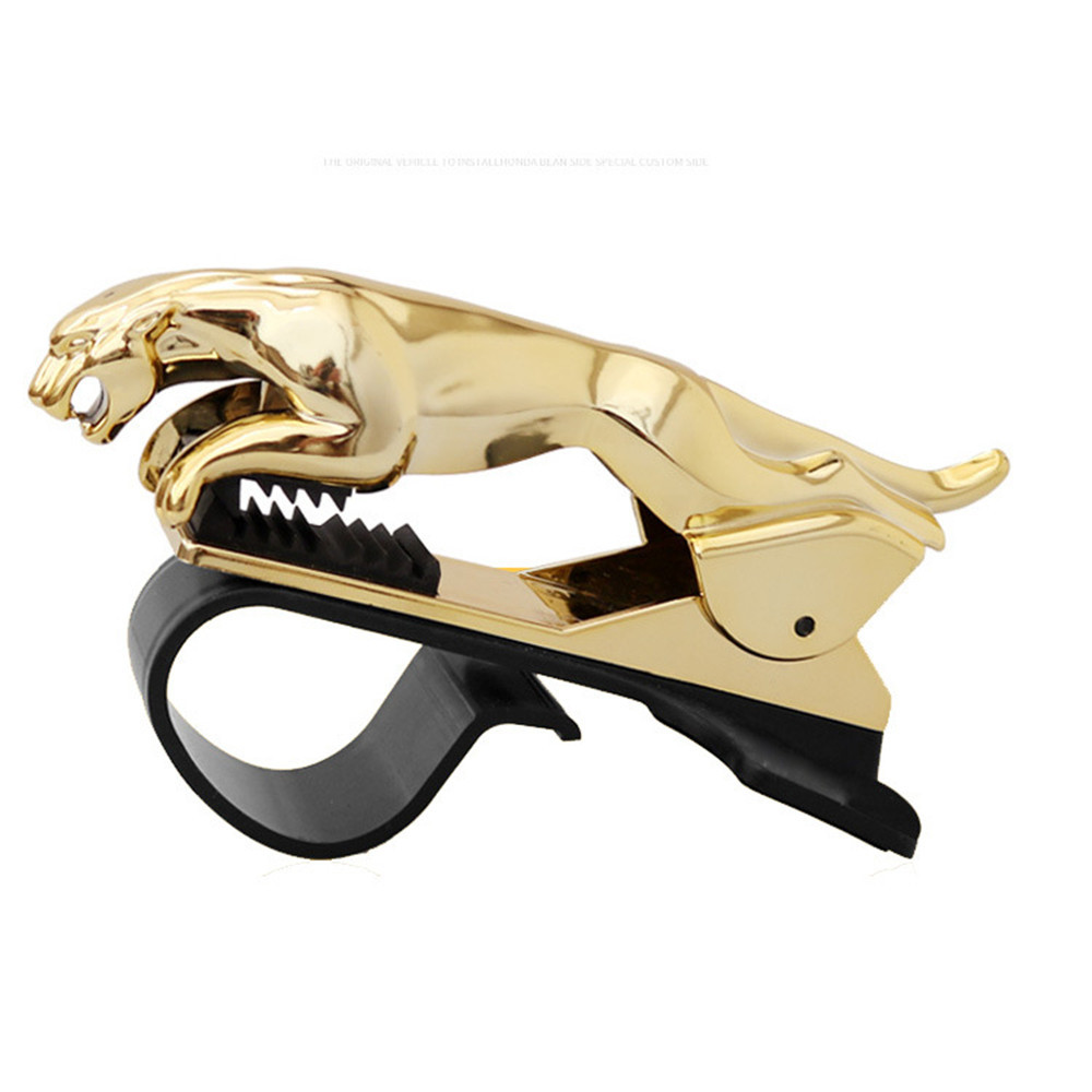 Car leopard phone clip holder 2