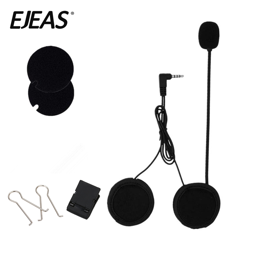 Automobile & Motorräder Humorvoll 2019 3,5mm Wired Mikrofon & Universal Metall Helm Clamp Für Motorrad Bluetooth Sprechanlagen Ejeas E6 E6 Plus Motorrad-elektronik