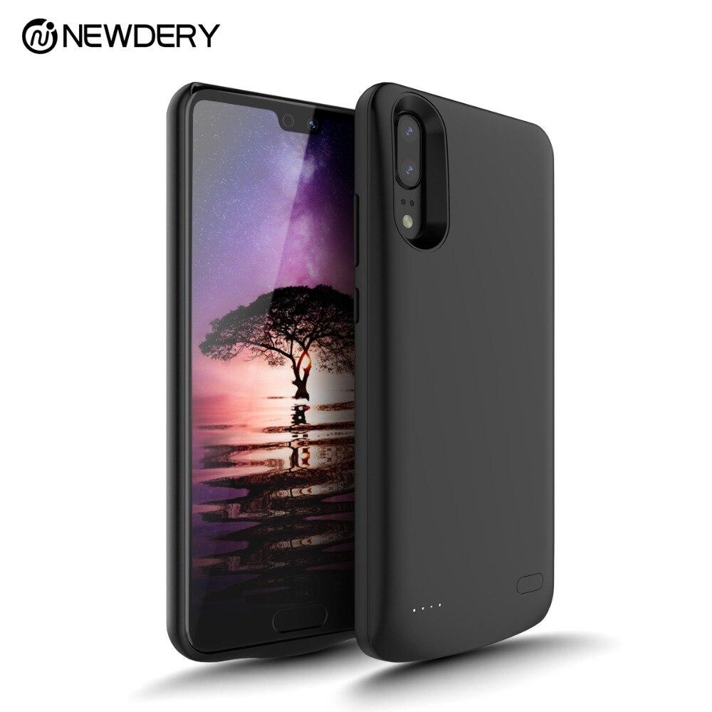 NOUVEAU 2018 date de charge batterie étui pour Huawei P20 couverture de cas de puissance 6000 mAh batterie externe coque pour téléphone pour Huawei P20 pro
