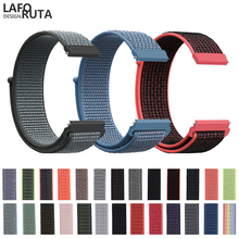Laforuta Nylon Band for Samsung Galaxy Watch Active 42mm Strap Classic S2 20mm Quick Release Loop