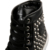 2016 de Moda de Lujo Zapatos de Los Hombres de Negro Ocasional Botas Planas Martin diseñador Rivet Spikes Botas Rojas Remaches High Top hombres góticos zapatos