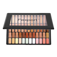 50 Colors Facial Base Makeup Concealer Palette Contouring Foundation Cream Shimmer Plate Trimming Brighten Skin Color Maquiagem