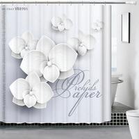 180x180cm Polyester Shower Curtain 3D Hand Painted Waterfall Bath Scenery Waterproof Bathroom Curtain Cortina De Bano