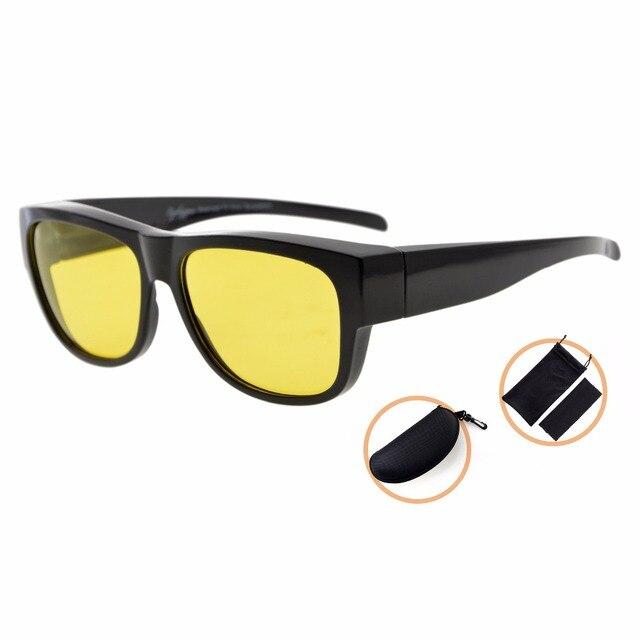 Lentes Fotocromáticas Óculos Fitover BSS022 Eyekepper Polarized Anti Brilho  Azul (Preto Amarelo Lentes) 0a34248d3e