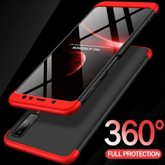 Protective Case For Samsung Galaxy A7 A6 A8 J4 J6 Plus 2018 Phone Case For Samsung A5 A3 A7 2017 360 Full Cover Shockproof Case