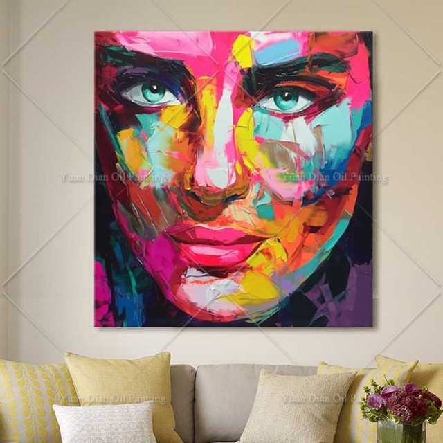 Aliexpress.com : Buy Handmade High Quality Knife Painting Abstract ...