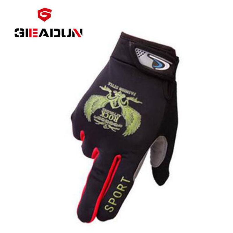 Long Finger Cycling Glove Gel Touch Screen Mountain Bike Bicycle Gloves for Man MTB BMX DH Off Road Motocross Gloves