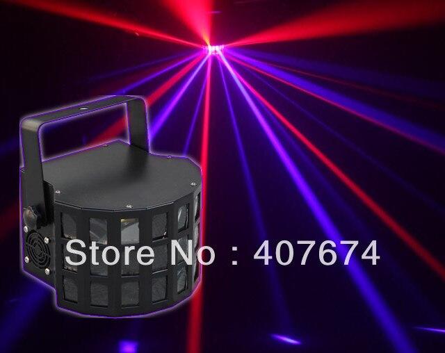 Дропшиппинг всего 25 Вт Мощность, 2*10 Вт RGBW бабочка с DMX512, disco LED Light Effect этап Освещение