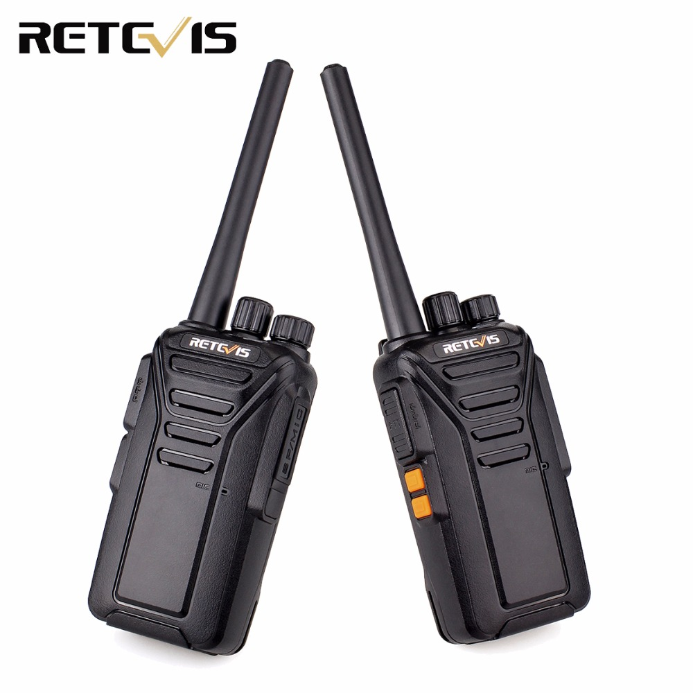 2pcs Retevis RT27 RT27V License-free MURS/FRS/PMR446 12.5KHz Analog Handheld Radio Walkie Talkie Hf Transceiver