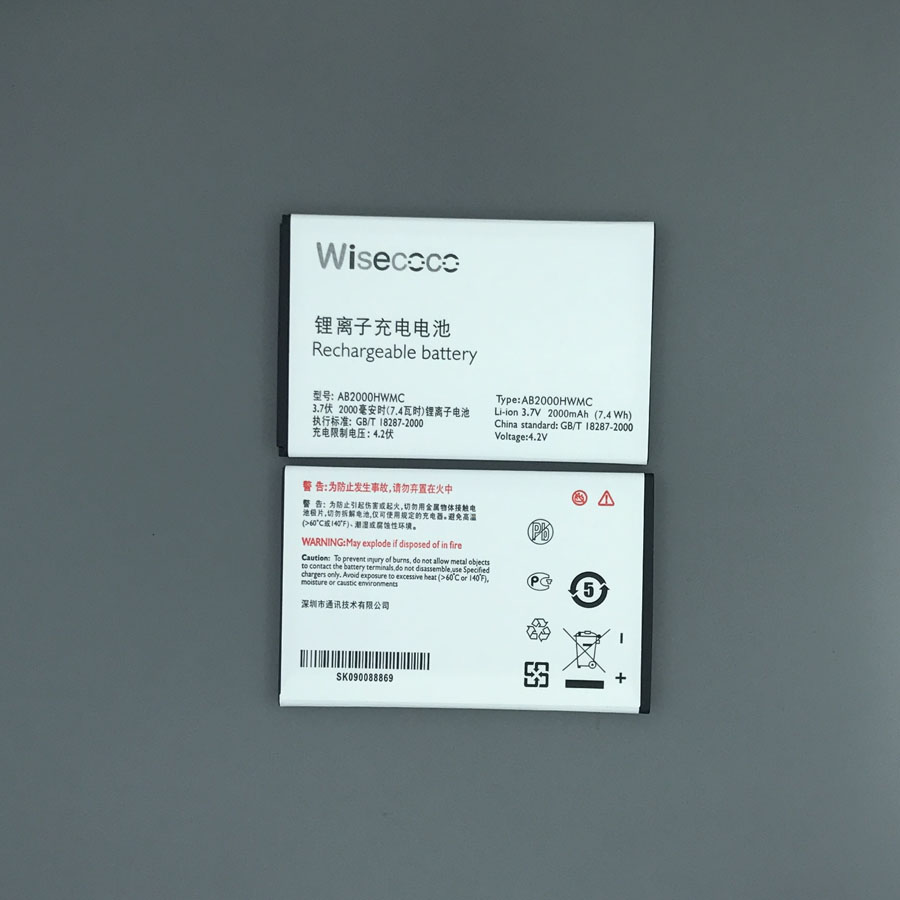 IN Stock NEW AB2000HWMC/AB2000HWML Battery For PHILIPS Xenium W3568 Smartphone With Tracking Number