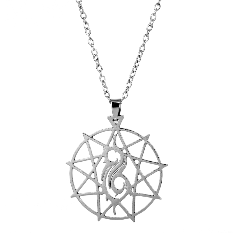 2018 Hot Sell Necklace Slipknot Rock Band Necklace for Men Women Love Music Logo Pendant Necklace Fans Jewelry Mather's Day Gift